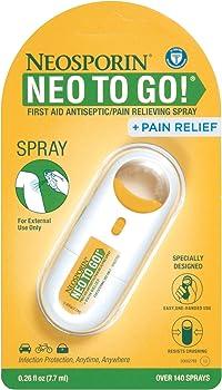 Neosporin + Pain Relief Neo to Go! Antiseptic/Pain Relieving Spray