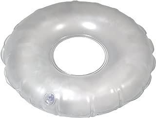 Drive Medical Inflatable Vinyl Ring Cushion, Grey
