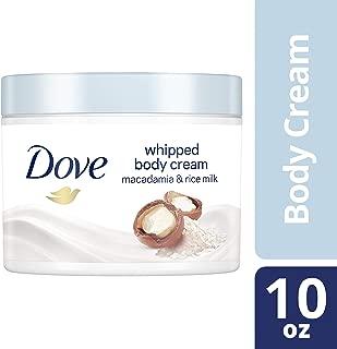 Dove Whipped Macadamia and Rice Milk Body Cream 10 oz