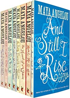 Maya Angelou 8 Books Collection Set (And Still I Rise,Mom and Me and Mom,The Heart Of A Woman,Song Flung Up to Heaven,All ...