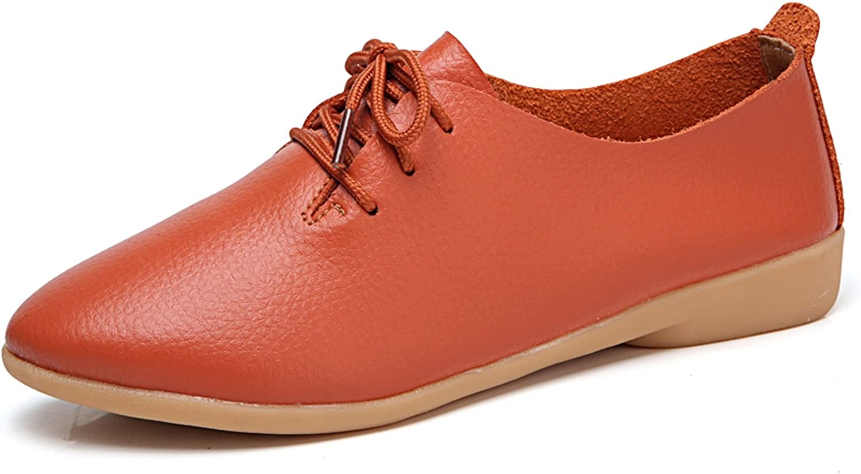 VenusCelia Women's Classic Oxford Flats shoes