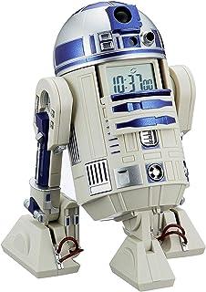 スター・ウォーズ R2-D2 目覚まし時計 音声・アクション付き 白 リズム時計 8ZDA21BZ03...