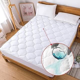 flat mattress pad queen