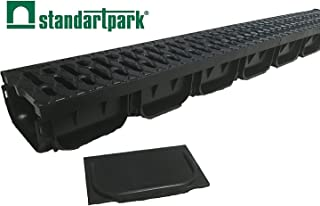 Standartpark - 4 Inch Trench Drain System with Grate - Spark 2