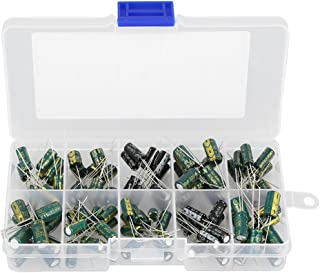 100 stücke DIY Hochwertigen Audiokondensator Verschiedene Elektrolytkondensatoren Kit 10 Werte 10 V 63 V 10uf 470uf