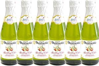 Martinelli's(マーティネリ) アップル スパークリング サイダー 250mL×6本