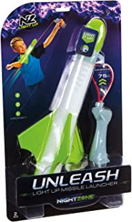 NightZone Unleash Light Up Missile Launcher Toy