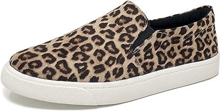 Amazon.com: leopard slip on sneakers
