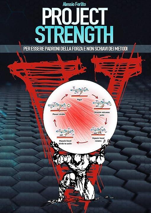 project strength. per essere padroni della forza e non schiavi dei metodi (italiano) copertina rigida 978-8894205404