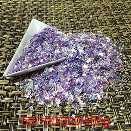 Gabcus Irregular Manicure Purple Free Shipping Cheap Bargain Gift Shell Glitter Nail Cameo Powder Louisville-Jefferson County Mall
