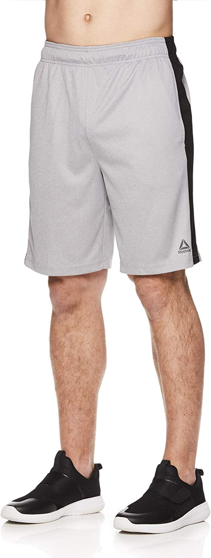 Reebok Men's Drawstring Shorts - Running Shor Workout Athletic OFFicial OFFer
