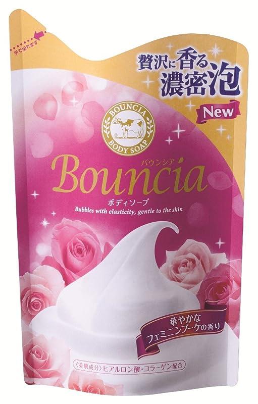 滑りやすい分泌する採用バウンシアボディソープ フェミニンブーケの香り 詰替用 430mL