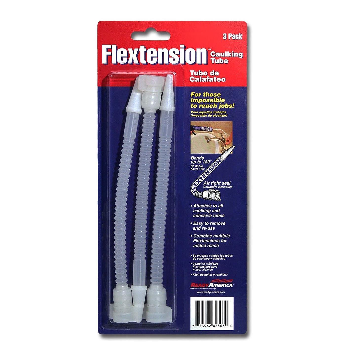 Ready America FT-88503 Flextension Caulking Tube Tip, 3-Pack
