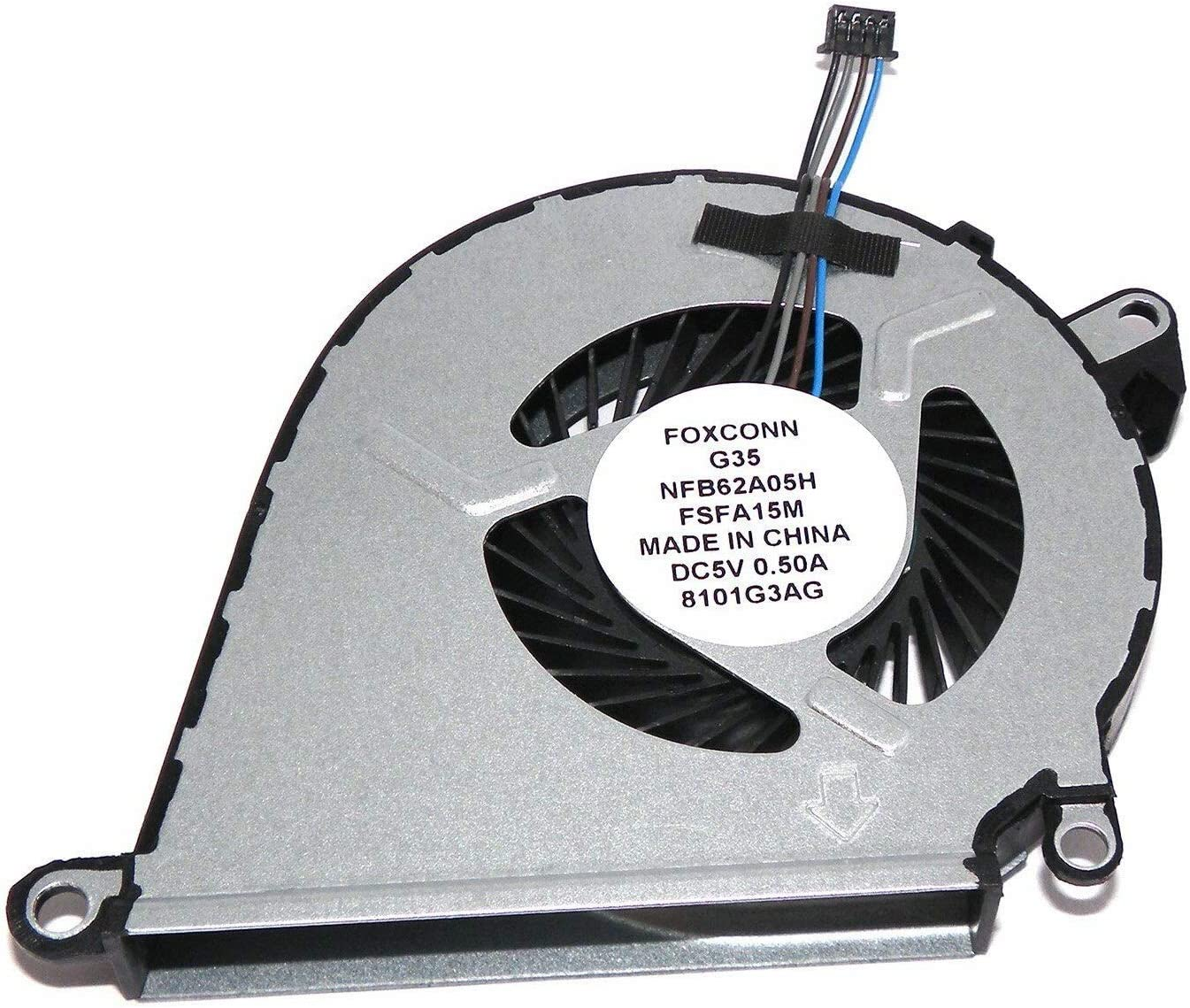 GIVWIZD At the price Laptop Replacement CPU Cooling HP 15-bc for Popular standard Pavilion Fan