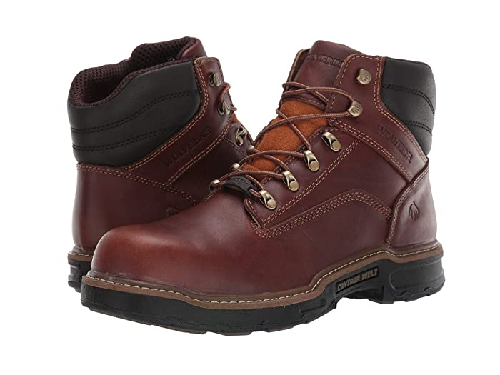 Wolverine  Raider II 6 CarbonMax Boot (Peanut) Mens Work Lace-up Boots