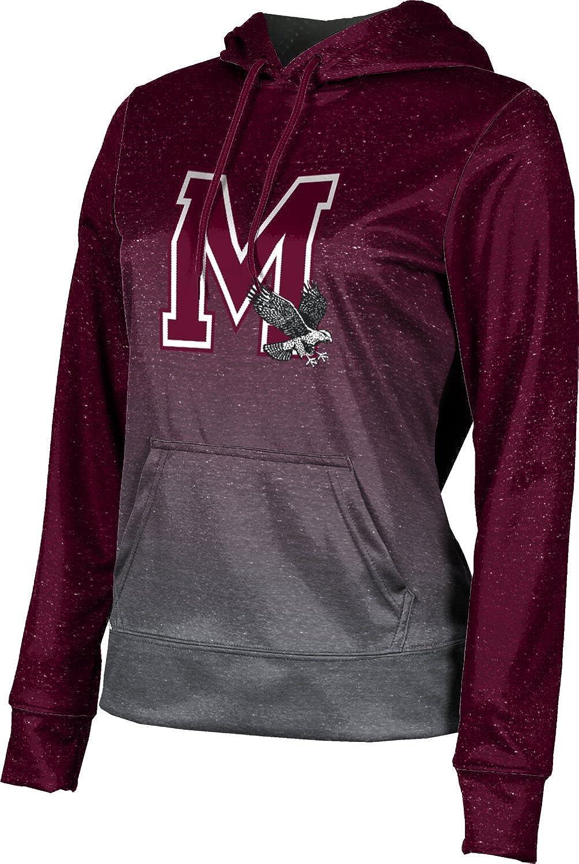 ProSphere University of Maryland Eastern Shore Girls' Pullover Hoodie, School Spirit Sweatshirt (Ombre)