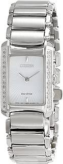 Citizen Eco-Drive Women's EG2960-57A Euphoria Analog Display Silver Watch