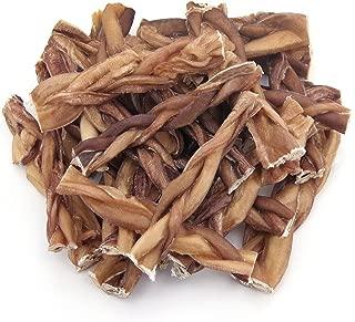 GigaBite Odor-Free Braided Bully Sticks - USDA & FDA...