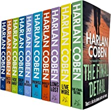 Harlan Coben Myron Bolitar Series Collection 1-10 Books Set (Deal Breaker, Drop Shot, Fade Away, Back Spin, One False Move...