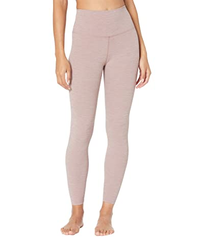 Nike Yoga Luxe 7/8 Tights (Smokey Mauve/Heather/Smokey Mauve) Women