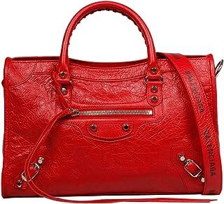 72110518b1 Balenciaga Femme 431621DB5XN6460 Rouge Cuir Sac À Main