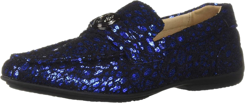 Stacy Adams Mens Cyrano Moc-Toe Slip-on Driving-Style Loafer Driving Style Loafer