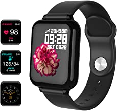 """Maypott Fitness Tracker Watch, Smartwatch Activity Tracker with Heart Rate Monitor, 1.3"""" Color Screen Sport Watches with Blood Pressure Sleep Monitor Step Calorie Counter Waterproof for Women Men Kids"""