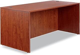 Alera Valencia Series 66 by 30 by 29-1/2-Inch Desk Shell, Medium Cherry