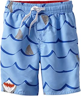 Wes and Willy Little Boys' Sharks Swim Trunk