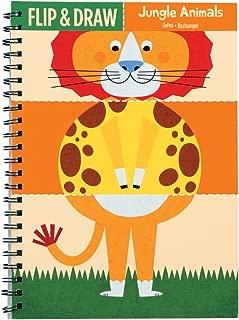 Mudpuppy Jungle Animals Flip and Draw