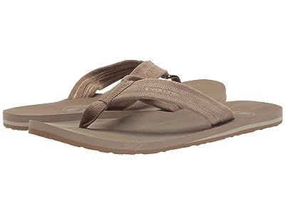 Volcom Driftin Leather Sandal (Tan) Men