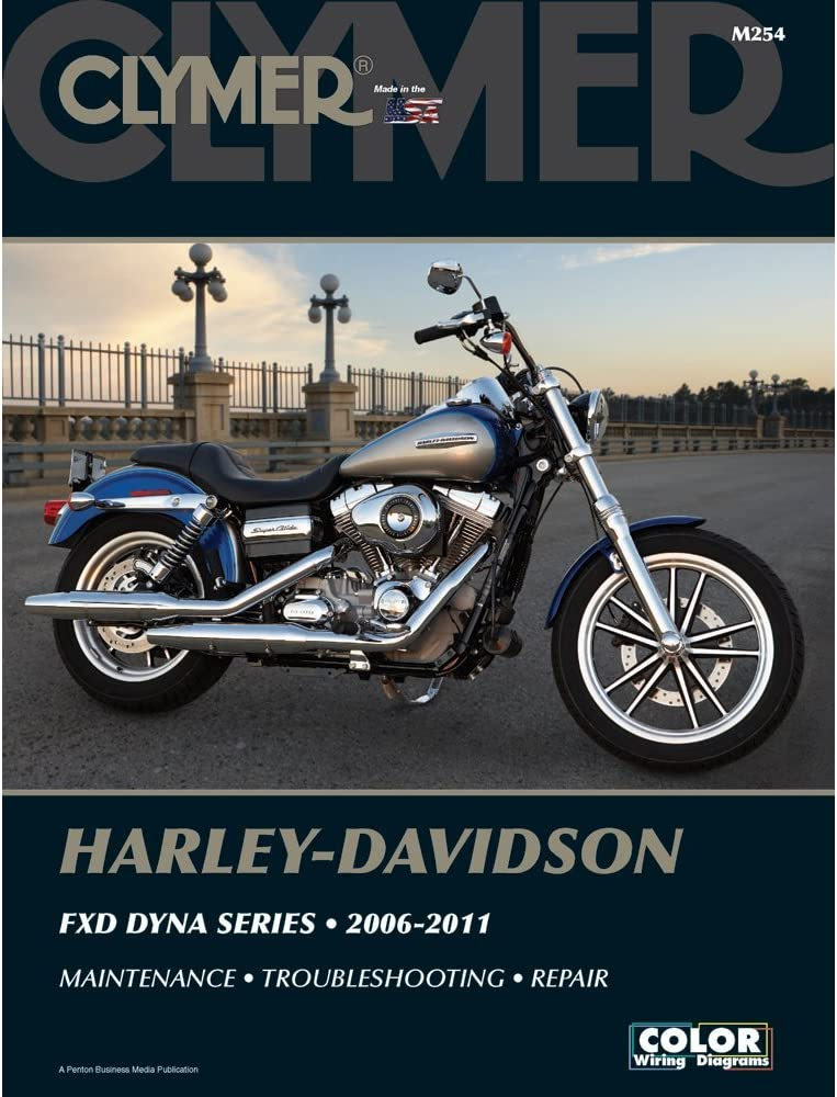 Department store Clymer Manuals M254; Manual by Dyna Made H-D Max 66% OFF