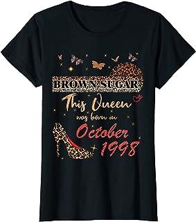 October Birthday Leopard This queen is born in october 1998 T-Shirt