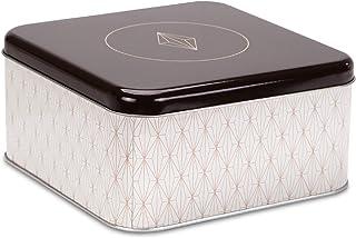 Städter 710078 Vanilla Diamonds Boîte à pâtisserie en fer blanc