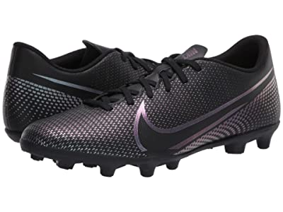 Nike Vapor 13 Club FG/MG (Black/Black) Cleated Shoes