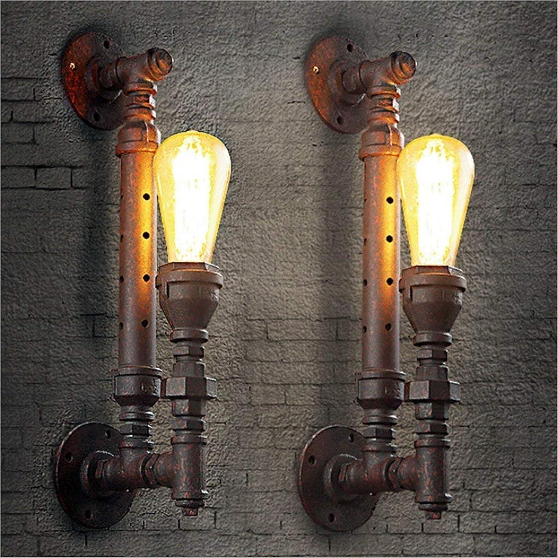 FJTXC Exquisite Dauerlicht Wasserpfeifen Balkon Bar Restaurant Kreative Treppen Rohre Wasser Dampf Rohre Rost Dauerlicht Mode