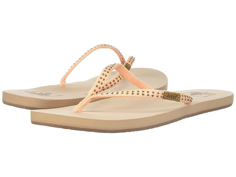 Reef Slim Ginger Stud (Peach) Women