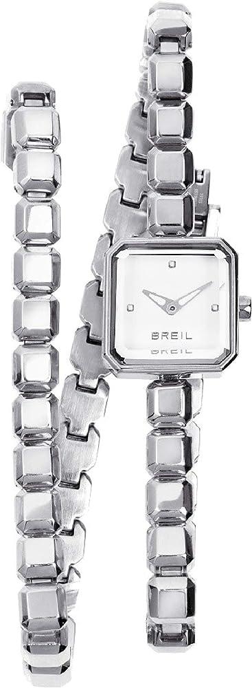 Breil orologio per donna pure watches con bracciale in acciaio TW1453