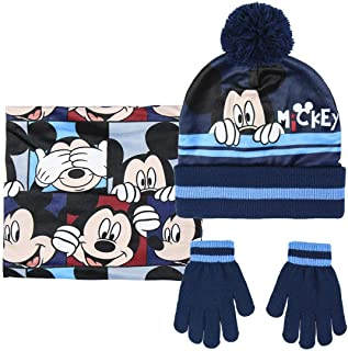 ARTESANIA CERDA, Mickey Niños, Azul (Azul 01), One Size (Tamaño del fabricante: One Size)