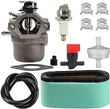 Harbot 799728 Carburetor + 496894S 496894 493909 Air Filter +272403S 272403 Pre Filter Fuel Line Filter for Briggs Stratton 498027 498231 499161 494502 494392 495706 496592 498231 Carb