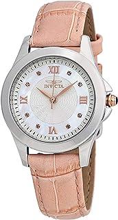 Invicta 12544 Angel Reloj análogo de cuarzo suizo, para mujer, rosa