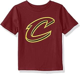Outerstuff NBA NBA Toddler Cleveland Cavaliers Primary Logo Short Sleeve Basic Tee, Garnet, 3T