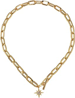 Rebecca Minkoff - Signature Link Star Charm Necklace