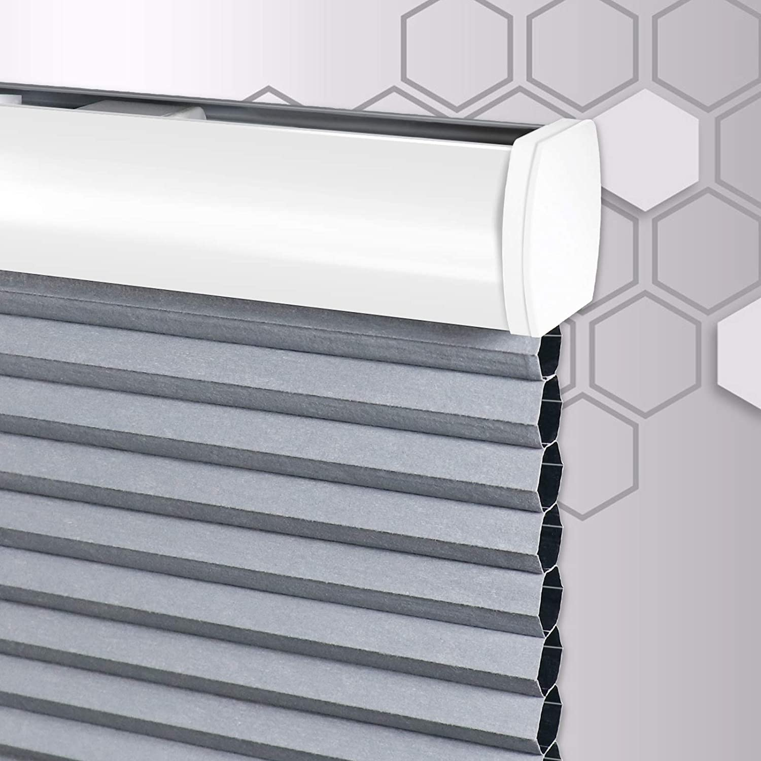 SEEYE NEW before selling Cordless Cellular Shades Popular product Blackout Honeycomb for Win Blinds