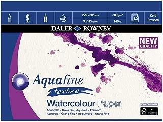 Daler Rowney Aquafine Gummed Pad 300g, 305x228mm (12 x 9