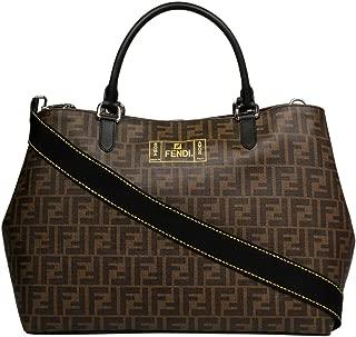 Luxury Fashion | Fendi Mens 7VA467A80PF17Q0 Brown Tote | Fall Winter 19