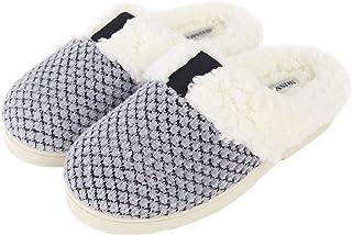 شباشب حريمي مريحة من IRISMON مع إسفنج ذكي ، أحذية نوم محبوكة ناعمة مع بطانة دافئة من القطيفة
