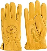 Tuff Mate Gloves Tuff Mate Lined PL1301 L Cutting Horse Glove Tan 9