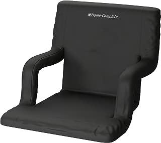 家用加宽体育场椅适用于漂白剂或长椅 – 享受加垫靠背和扶手支持 – 6 档斜倚定制运动位置 – 方便携带