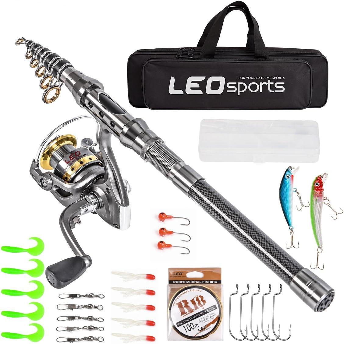 Leo Sports Telescopic Fishing Kit